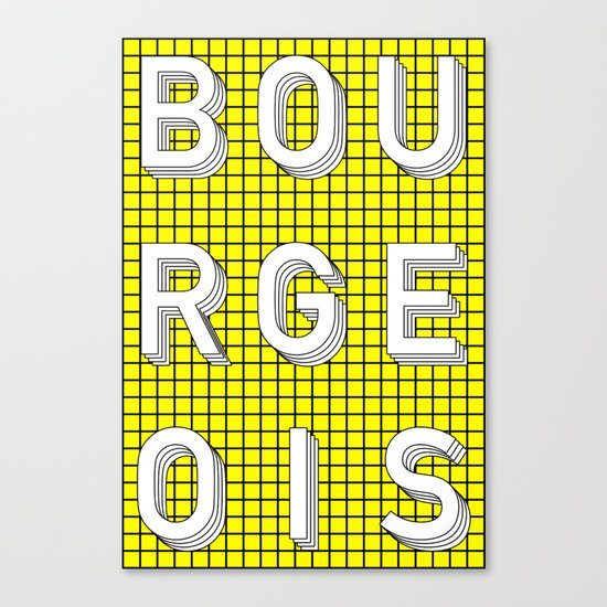 Bourgeois Canvas Print