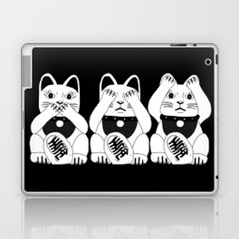 Three Smart Cats Laptop & iPad Skin