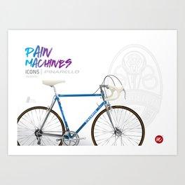 Pain Machines - Treviso Art Print