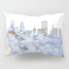 Buffalo New York Skyline Pillow Sham