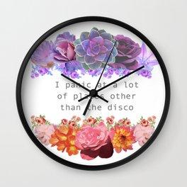Panic! Wall Clock