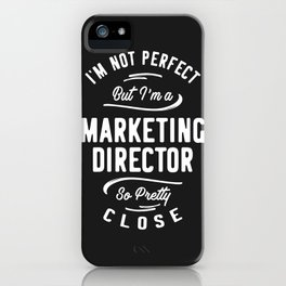 Marketing Director iPhone Case