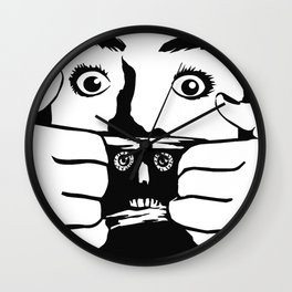 BRAINDEAD aka DEAD ALIVE Collectible Beth Bacon Design no. 3 Wall Clock