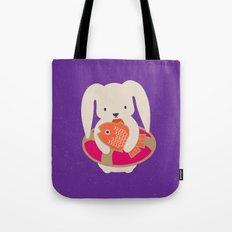 Beach Bunny Tote Bag
