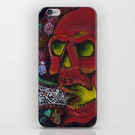 THE SKULL, Halloween Art iPhone Skin