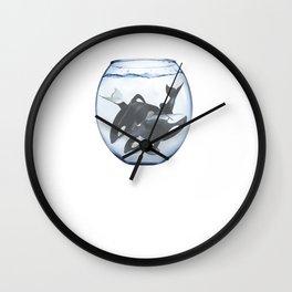 MERCH LORA WHALE Wall Clock