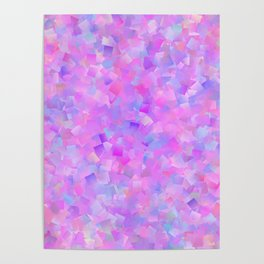 Funfetti (Preppy Abstract Pattern) Poster