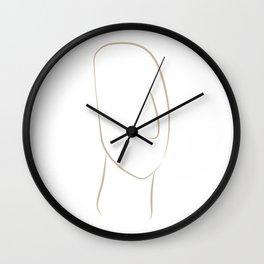 cycladic #2 Wall Clock