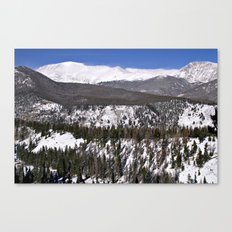Rocky Mountain National Park Windswept Peaks Canvas Print