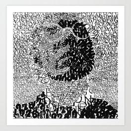 Warhol Typo Art Print