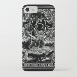 THE DEVIL of Tarot Cats iPhone Case