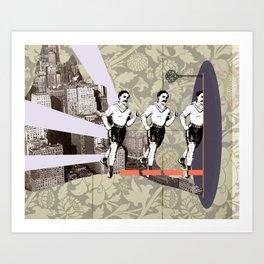 Escapement Art Print