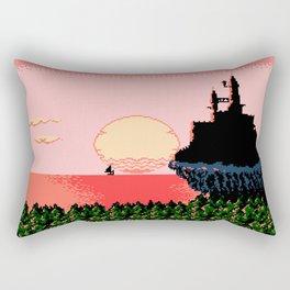 The Morning Sun Vanquished The Horrible Night Rectangular Pillow