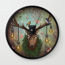 Ready For Spring Wall Clock