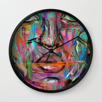 wonder Wall Clocks featuring Wonder by Archan Nair