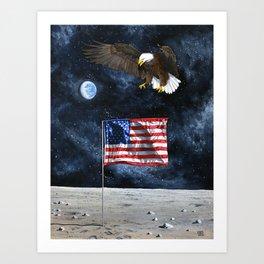 The Eagle Returns Art Print