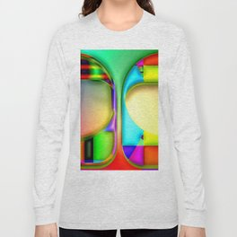 Two colored things ... Long Sleeve T-shirt