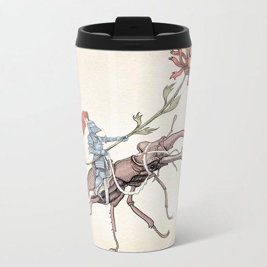Gentle knight Metal Travel Mug
