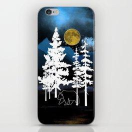 Full Moon Rising II iPhone Skin