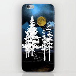 Full Moon Rising II iPhone Skin