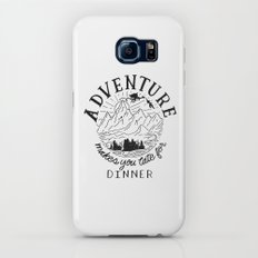 adventure makes you late for dinner Galaxy S8 Slim Case