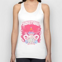 princess bubblegum Tank Tops featuring Princess Bubblegum: SCIENCE! by MortinfamiART