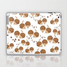 Hedgehogs in autumn Laptop & iPad Skin
