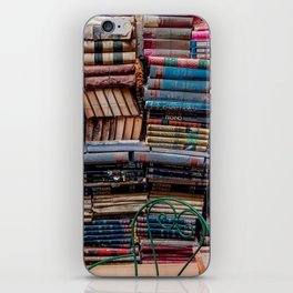 Book nook, Venice Italy iPhone Skin