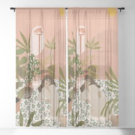 Bohemian Life Sheer Curtain