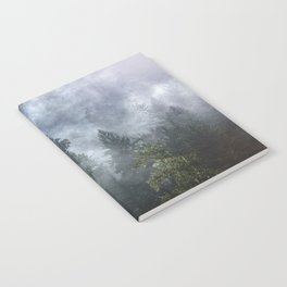 Smoky Redwood Forest Foggy Woods - Nature Photography Notebook
