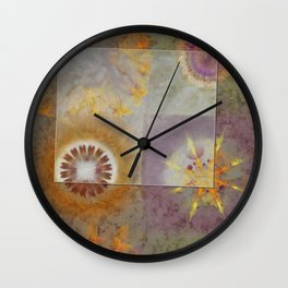 Slenderer Helpless Flowers  ID:16165-003429-36831 Wall Clock