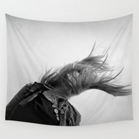 wind Wall Tapestries featuring Wind by Renata's Photobox