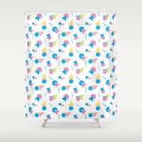 jem Shower Curtains featuring Jem 2 by Kukka