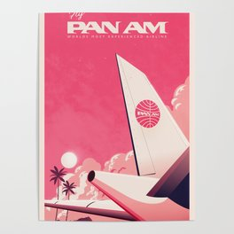 Fly PanAm Poster