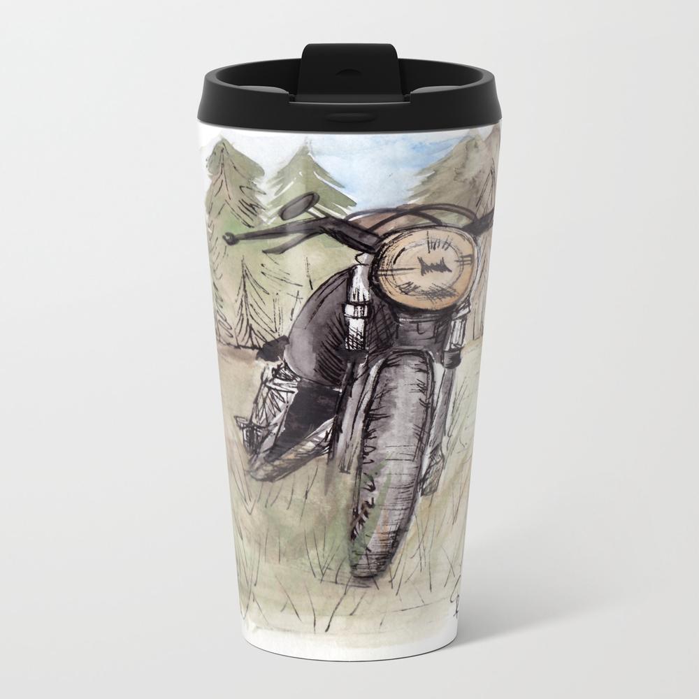 Cafe Racer Illustration Travel Mug TRM8952754