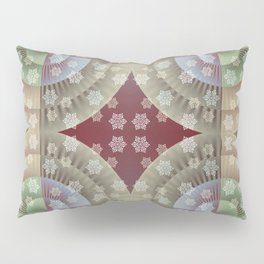 Festive Winter Pattern Pillow Sham