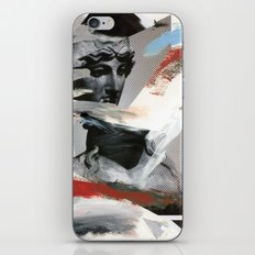 Untitled (Painted Composition 4) iPhone & iPod Skin
