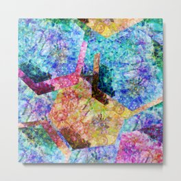 in the shimmer Metal Print