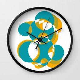 Man Juggles Balls Wall Clock