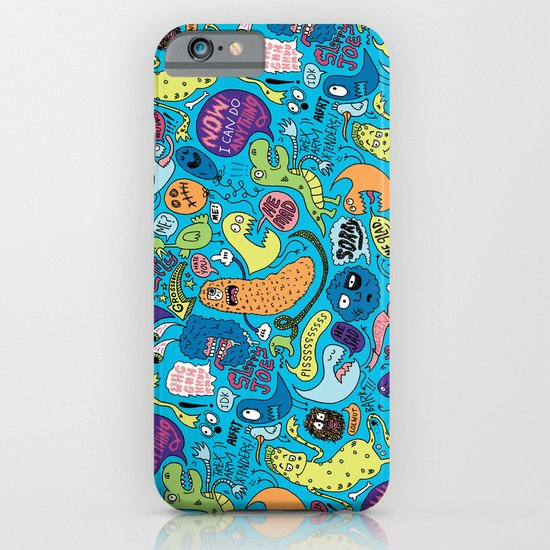 Gettin' Loose Pattern iPhone & iPod Case