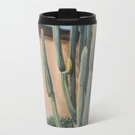 Cactus in the garden Travel Mug