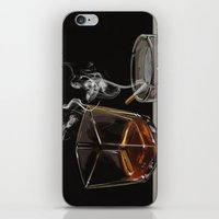 whiskey iPhone & iPod Skins featuring Whiskey Driven  by Joel McDonnell