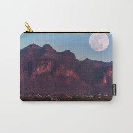 Super Blue Moon over Arizona #society6 #decor #buyart Carry-All Pouch