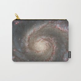 The Whirlpool Galaxy - Space Photograph Carry-All Pouch