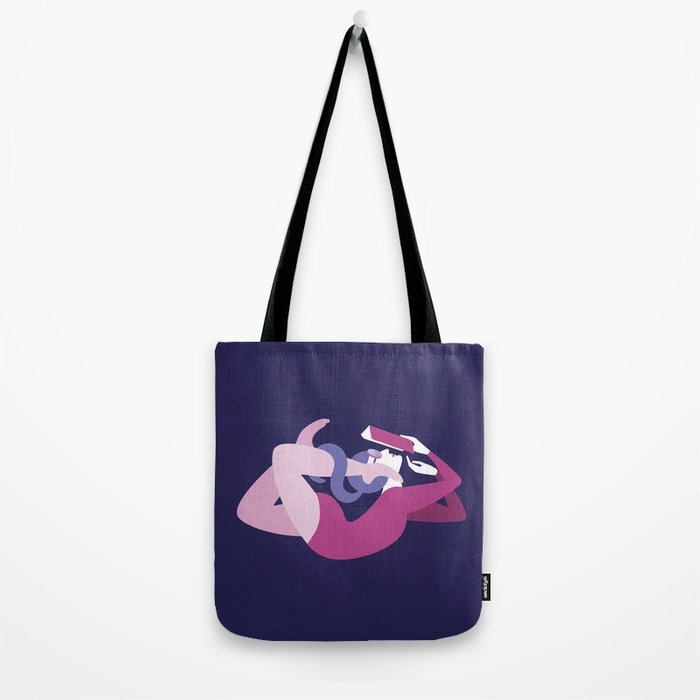 Reading and Yoga Tote Bag
