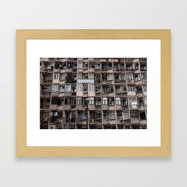 Mongkok Framed Art Print