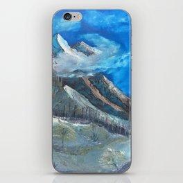 Cloudy Mountaintop iPhone Skin