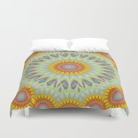 sun Duvet Covers featuring Sun by David Zydd
