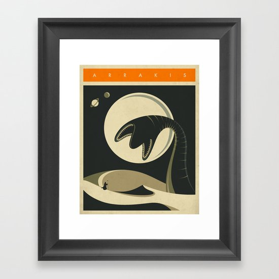 ARRAKIS Framed Art Print