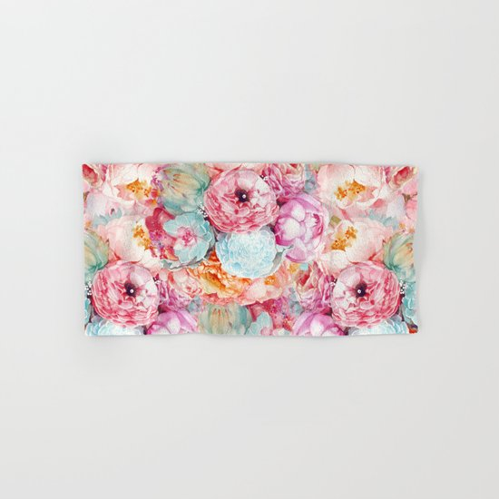 Spring Bouquet Hand & Bath Towel